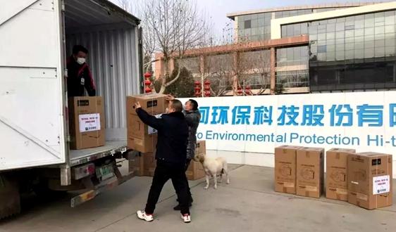 助力防疫阻击战——中国环境监测企业在行动
