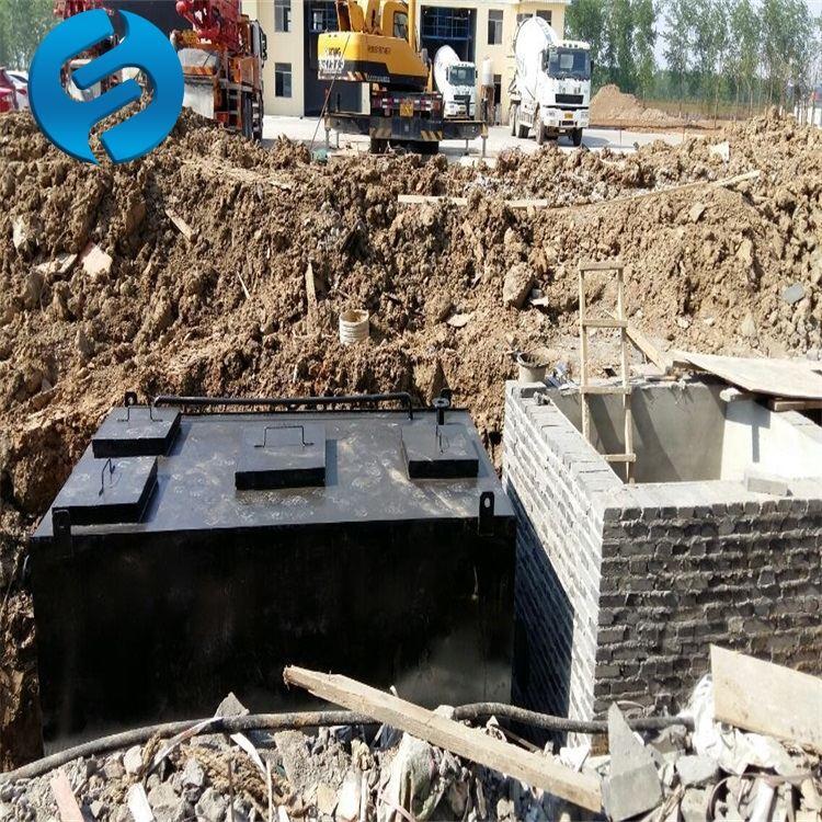 生活污水处理设备工艺流程步骤及构造