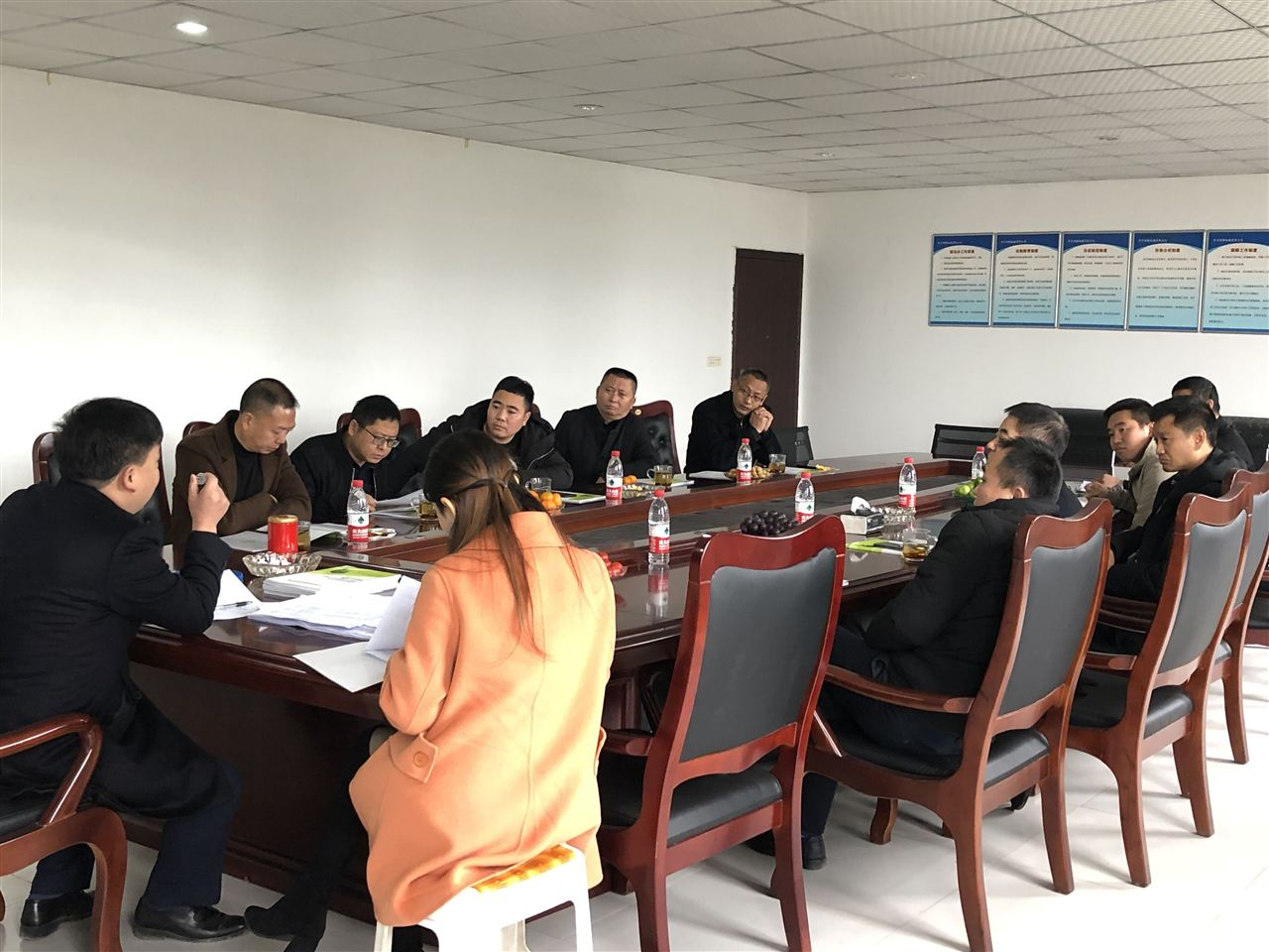 重庆沃利克环保设备有限公司组织全体员工培训