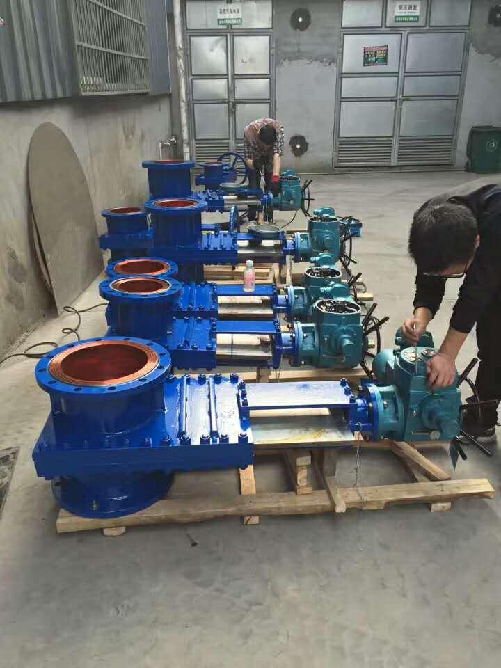 ZSK系列耐磨组合三片式矿浆阀