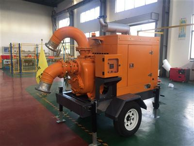 拖車式抽水泵