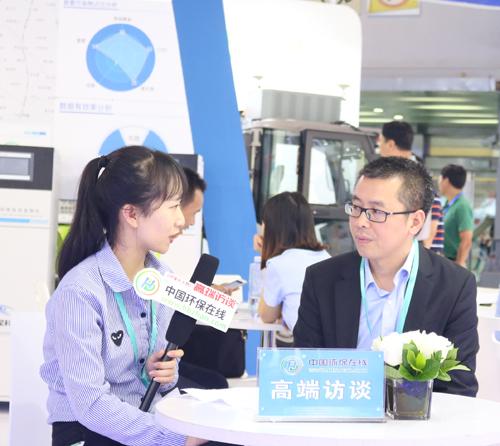 专访盈峰环境监测事业部总经理黄辉勤