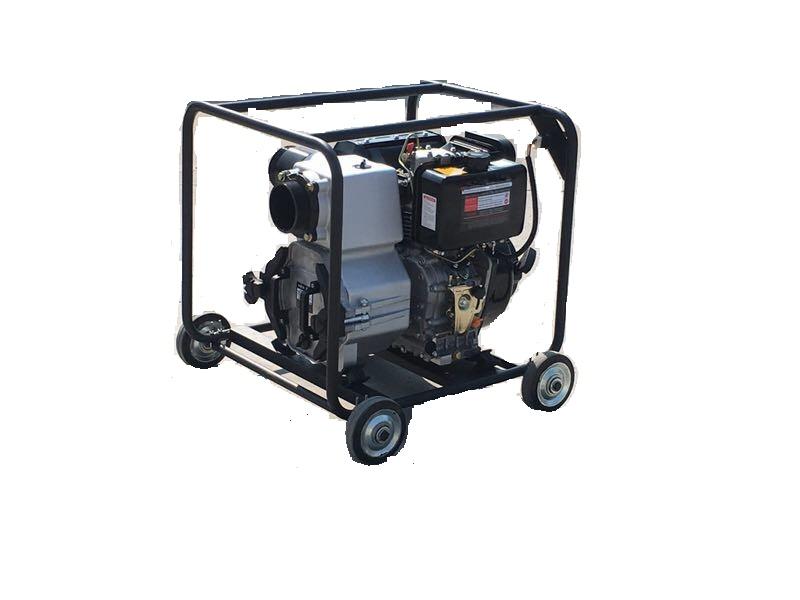 推车式汽油机水泵