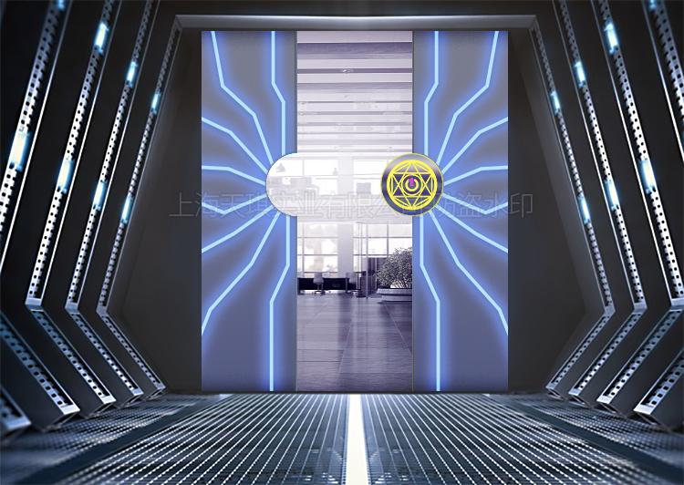 展览馆掌纹门