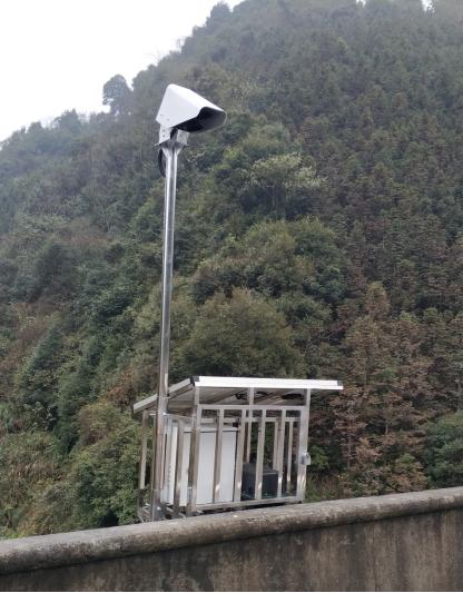 高速公路能见度及路面状况在线监测拓扑结构