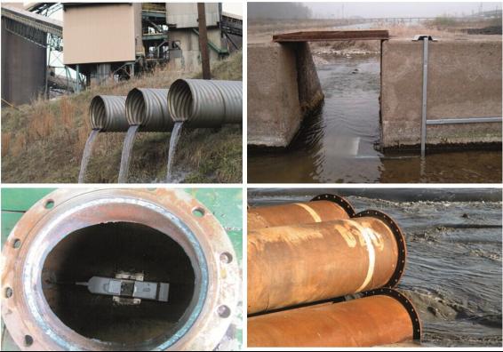 市政雨水污水合流管道流量計