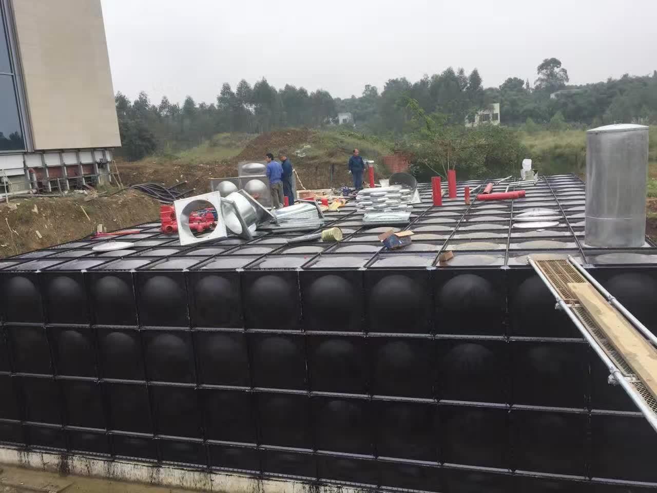 抗浮大模块地埋消防箱泵一体化泵站