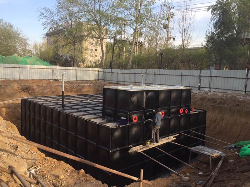 陕西榆林不锈钢水箱7x7x4.5顺利签约完成