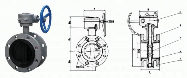 涡轮衬胶蝶阀结构图.jpg
