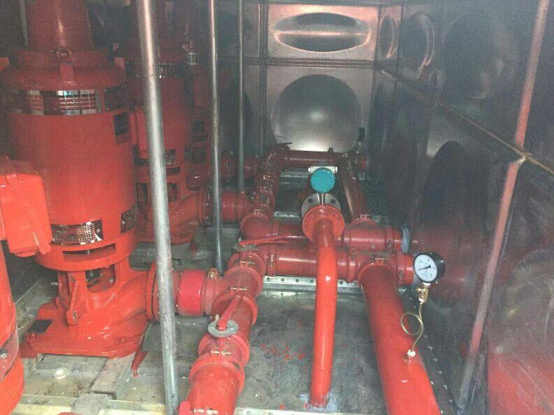 苏州无锡常州地埋式消防箱泵一体化泵站
