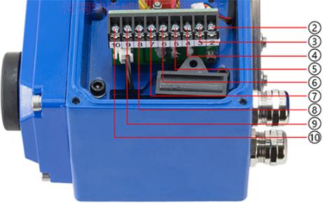 D971X电动调节型对夹蝶阀接线端子