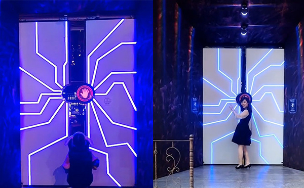 杭州抖音网红门