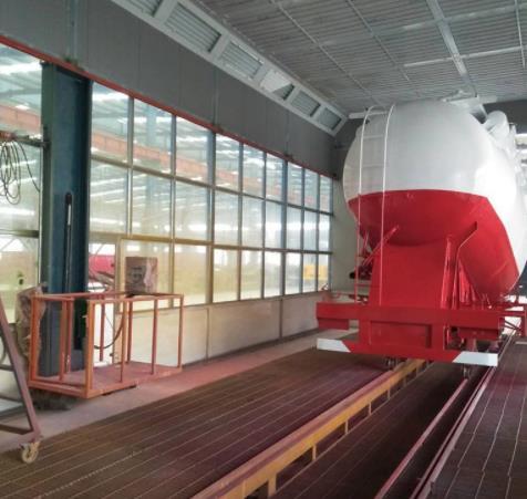 大型罐车喷漆房
