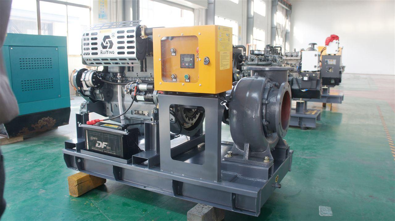柴油机水泵运行中过冷过热都会影响设备使用