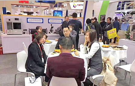 百特粒度仪亮相中国国际涂料展