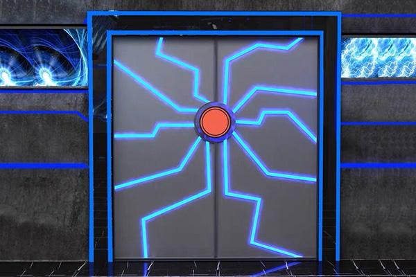 科幻造型门