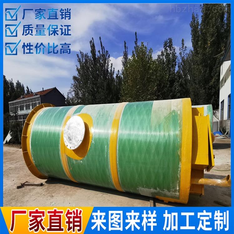成都学校一体化预制泵站处理达标
