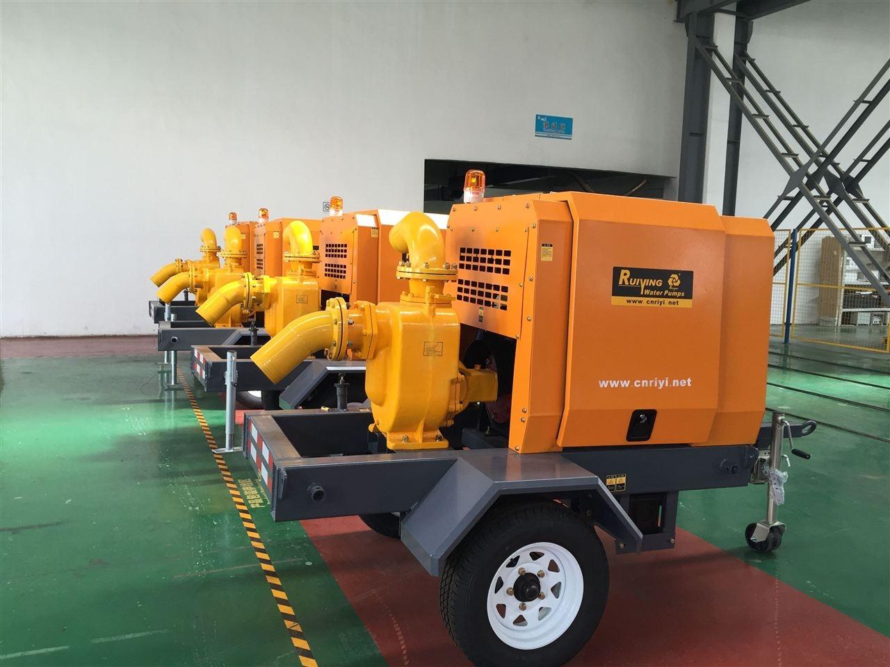 柴油抽水泵车