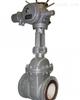 PZ941TC碳钢电动耐磨陶瓷排渣阀