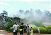 江苏圆明园人造雾美观工程