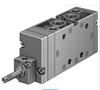 费斯托FESTO电磁阀MFH-5-3/8-S-B的作用分析